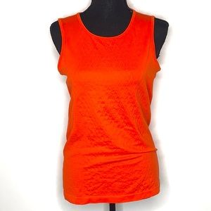 Athleta | Seamless Sequence Tank Top - Orange - M